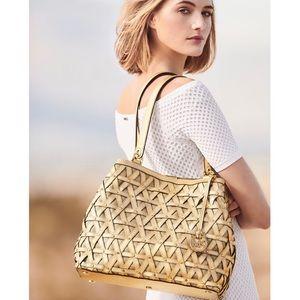 🍾🆕 MK ✦ Brooklyn Metallic Leather ✦ Satchel Bag